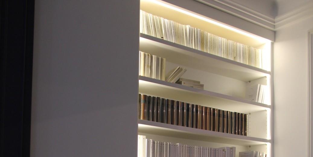 biblioth ques menuiserie medec. Black Bedroom Furniture Sets. Home Design Ideas